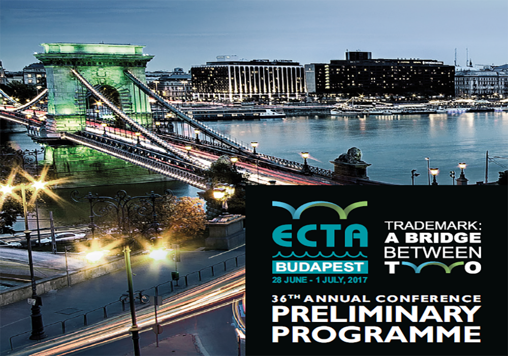 ECTA - 36TH Conference in Budapest - 28/06-01/07