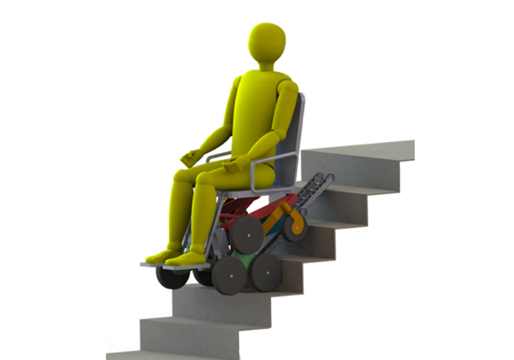 PRAXI Intellectual Property handled the patent application for the stair-climbing wheelchair designed by Politecnico di Torino